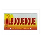 New Mexico License Plate Postcards (Package of 8)