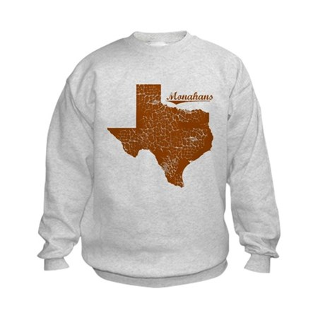 Monahans, Texas (Search Any City!) Kids Sweatshirt