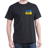 Ukrainian Football Flag T-Shirt