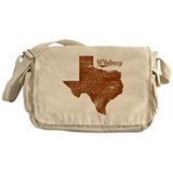 Whitney, Texas (Search Any City!) Messenger Bag