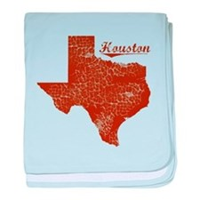 Houston, Texas (Search Any City!) baby blanket