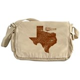 Allison, Texas (Search Any City!) Messenger Bag