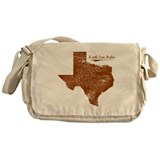 North San Pedro, Texas. Vintage Messenger Bag