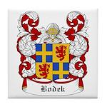 Bodek Coat of Arms Tile Coaster