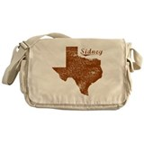 Sidney, Texas (Search Any City!) Messenger Bag