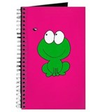 Funny Flying frog Journal