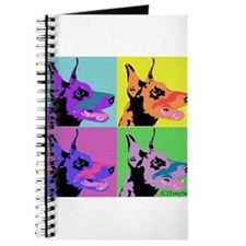 Doberman a la Warhol Journal