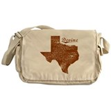 Devine, Texas (Search Any City!) Messenger Bag