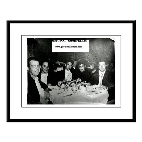 The ORIGINAL Goodfellas Large Framed Print