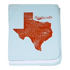 Douglassville, Texas. Vintage baby blanket
