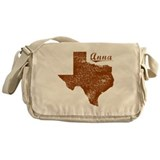Anna, Texas (Search Any City!) Messenger Bag