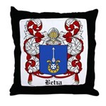 Betza Coat of Arms Throw Pillow