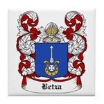 Betza Coat of Arms Tile Coaster