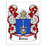 Betza Coat of Arms Small Poster