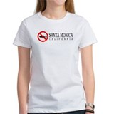 NO SHARKS Santa Monica Women's T-shirt