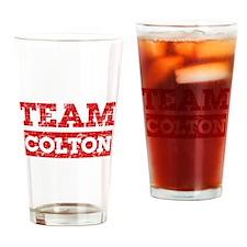 Team Colton Drinking Glass