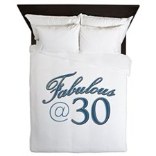 Fabulous at 30 Queen Duvet