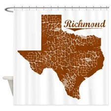Richmond, Texas (Search Any City!) Shower Curtain