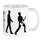 evolution e-guitar player Small Mug