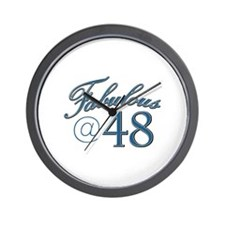 Fabulous at 48 Wall Clock