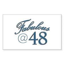 Fabulous at 48 Decal
