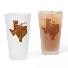 Courtney, Texas (Search Any City!) Drinking Glass