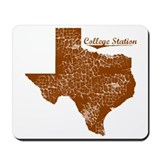 College Station, Texas. Vintage Mousepad