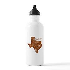 Port Mansfield, Texas. Vintage Water Bottle