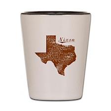 Nixon, Texas (Search Any City!) Shot Glass
