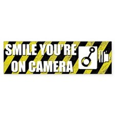 Smile your on camera (Bumper 50 pk)