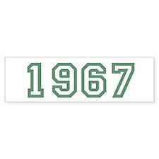 Cool 1967 Bumper Sticker