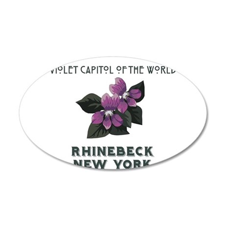 violet capitol of the world rhinebeck 35x21 Oval W