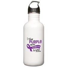 I Wear Purple 42 Lupus Water Bottle