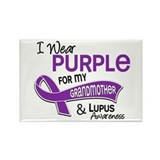 I Wear Purple 42 Lupus Rectangle Magnet (100 pack)