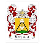 Baryczka Coat of Arms Small Poster