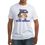 Grill Master Bruce Fitted T-Shirt
