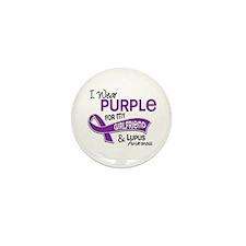 I Wear Purple 42 Lupus Mini Button (100 pack)