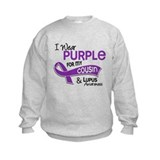 I Wear Purple 42 Lupus Sweatshirt