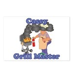 Grill Master Casey Postcards (Package of 8)