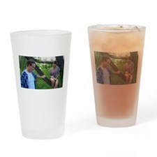 Pickup Lines Drinking Glass