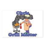 Grill Master Chris Postcards (Package of 8)