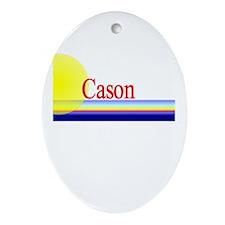 Cason Oval Ornament