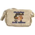 Grill Master Christian Messenger Bag