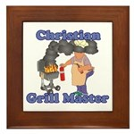 Grill Master Christian Framed Tile