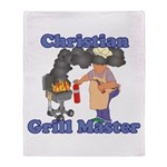 Grill Master Christian Throw Blanket
