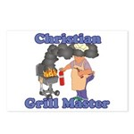 Grill Master Christian Postcards (Package of 8)