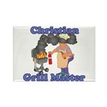 Grill Master Christian Rectangle Magnet