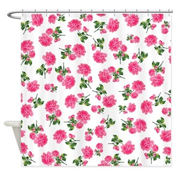 shabby chic shower curtain
