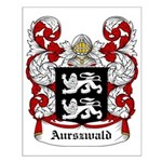Aurszwald Coat of Arms Small Poster
