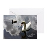 Cob cloud reflections Greeting Card